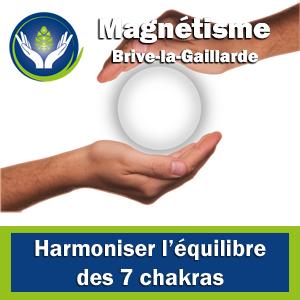 Magnétiseur Brive - Harmoniser les 7 chakras