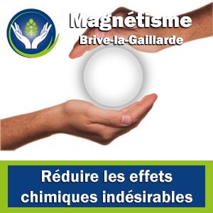 Magnétiseur Corrèze - Réduire les effets chimiques indésirables