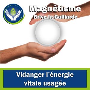 Magnétiseur Corrèze - Vidanger l'énergie usagée